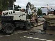 Sanierung Wasserleitung Täuffelen
