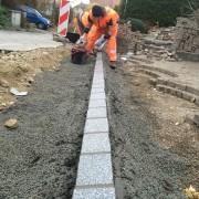 Belagsarbeiten Oberdorfstrasse Mörigen