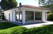 Neubau Garage mit Gartenhalle